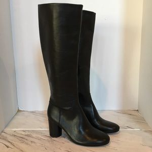 Madewell Leather Knee Boots
